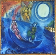 Homage to Chagall Table Top
